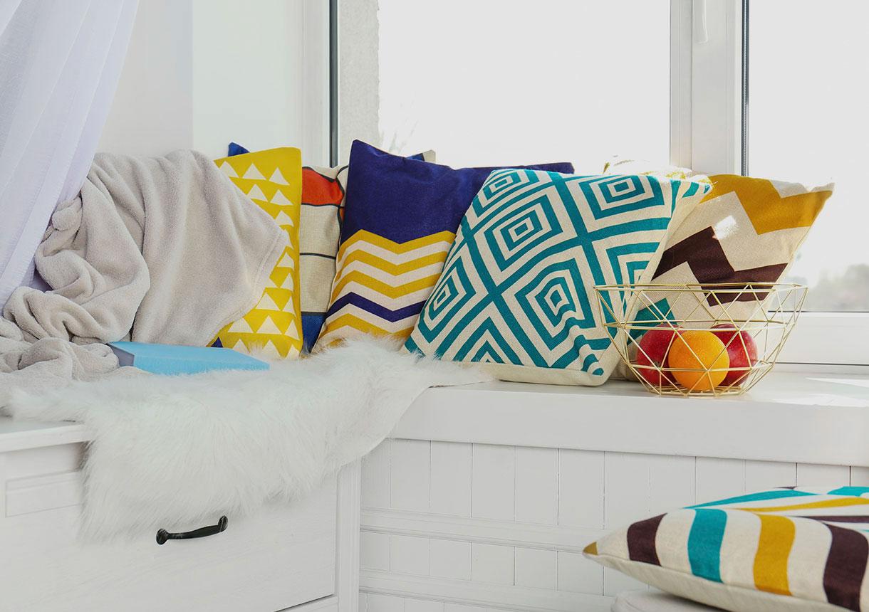 Deja entrar la decoración en tu hogar